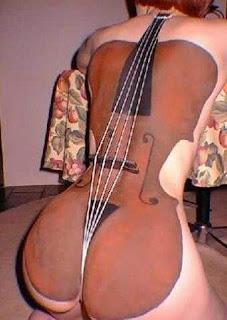 Imagen Graciosa: ¡Que gran violin!