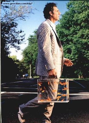 Fotomontaje: Pecera en maletin