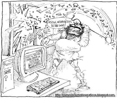 [Chiste Gráfico] Humor Geek - Geek cavernicola