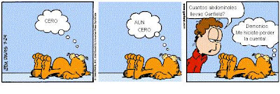 [Chiste Gráfico] Comics de Garfield.