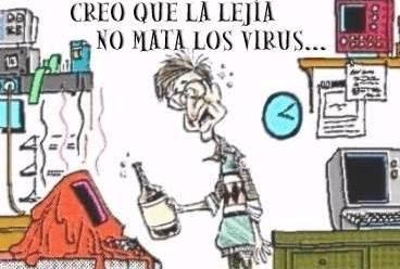 Chistes Grafico: No mata virus - geek, ordenadores