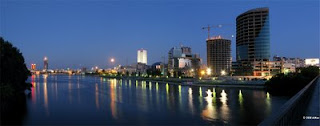 Ekaterinburg-City at night