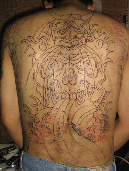 .::PRIMERA SESSION BACK PIECE::. esperemos terminarla pronto