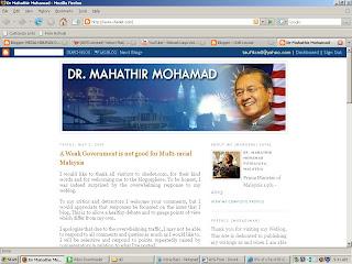 blog Mahathir