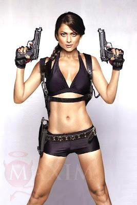 Indian Angelina Jolie - Amrita Arora for Maxim Mag