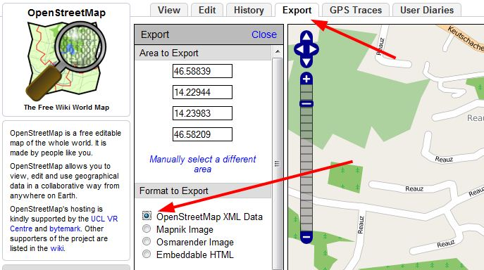 Spatial Mounty: OSM data to shapefile with specific OSM Tags