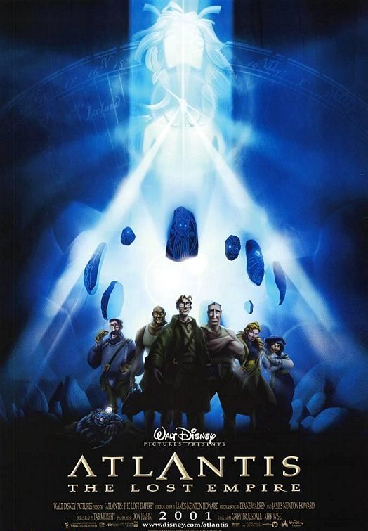 Atlantis: The Lost Empire (2001) BluRay 480p & 720p