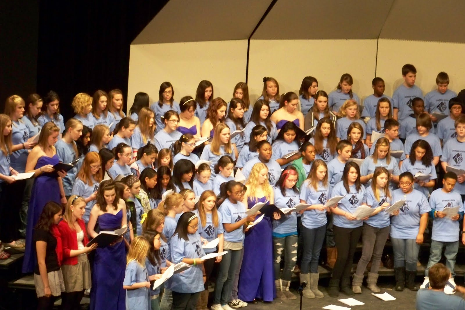 South High Fine Arts Dgs Middle School Choir Festival