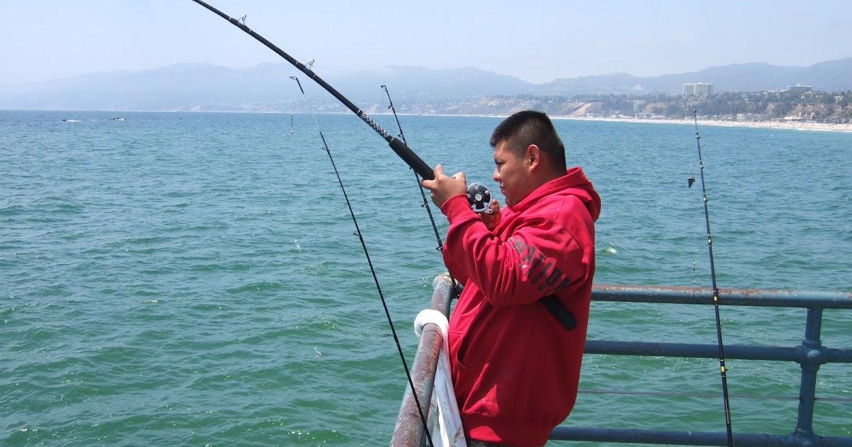 Take me fishing santa monica pier california part i for Take me fishing