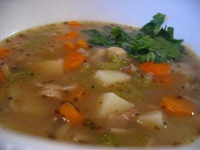 Casual kitchen austrian cuisine viennese potato soup for Austrian cuisine vienna