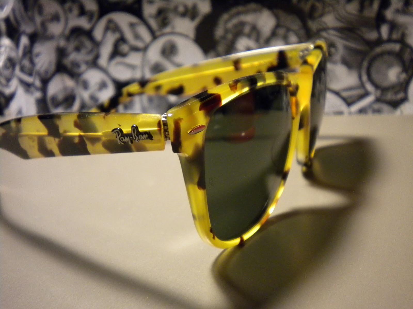 535c3cbd1b8 Ray Ban Two Tone Wayfarer Sunglasses Tortoise Yellow « One More Soul