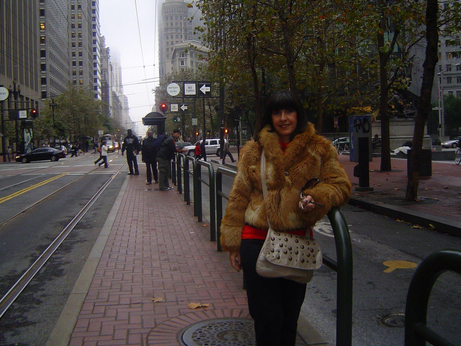 El clima estaba bastante frío.