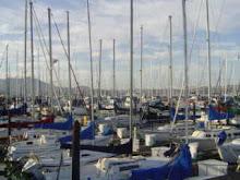 El embarcadero en Sausalito