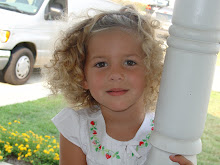 Anna loving her curly hair!