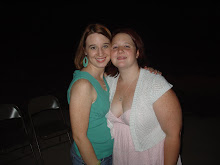 Melinda and Melissa at Kaleb's 8th Birthday Party!
