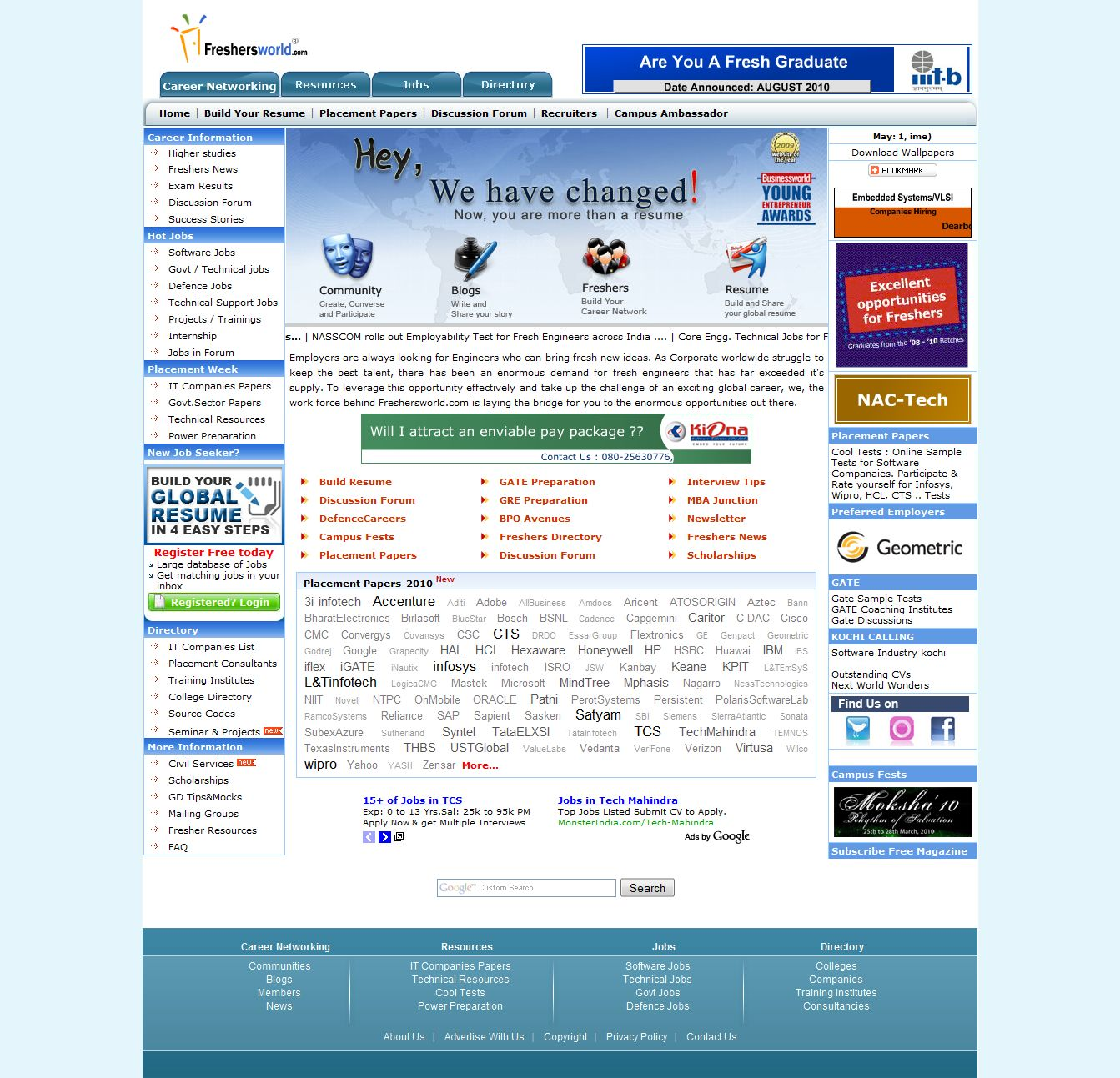 top job recruiting websites