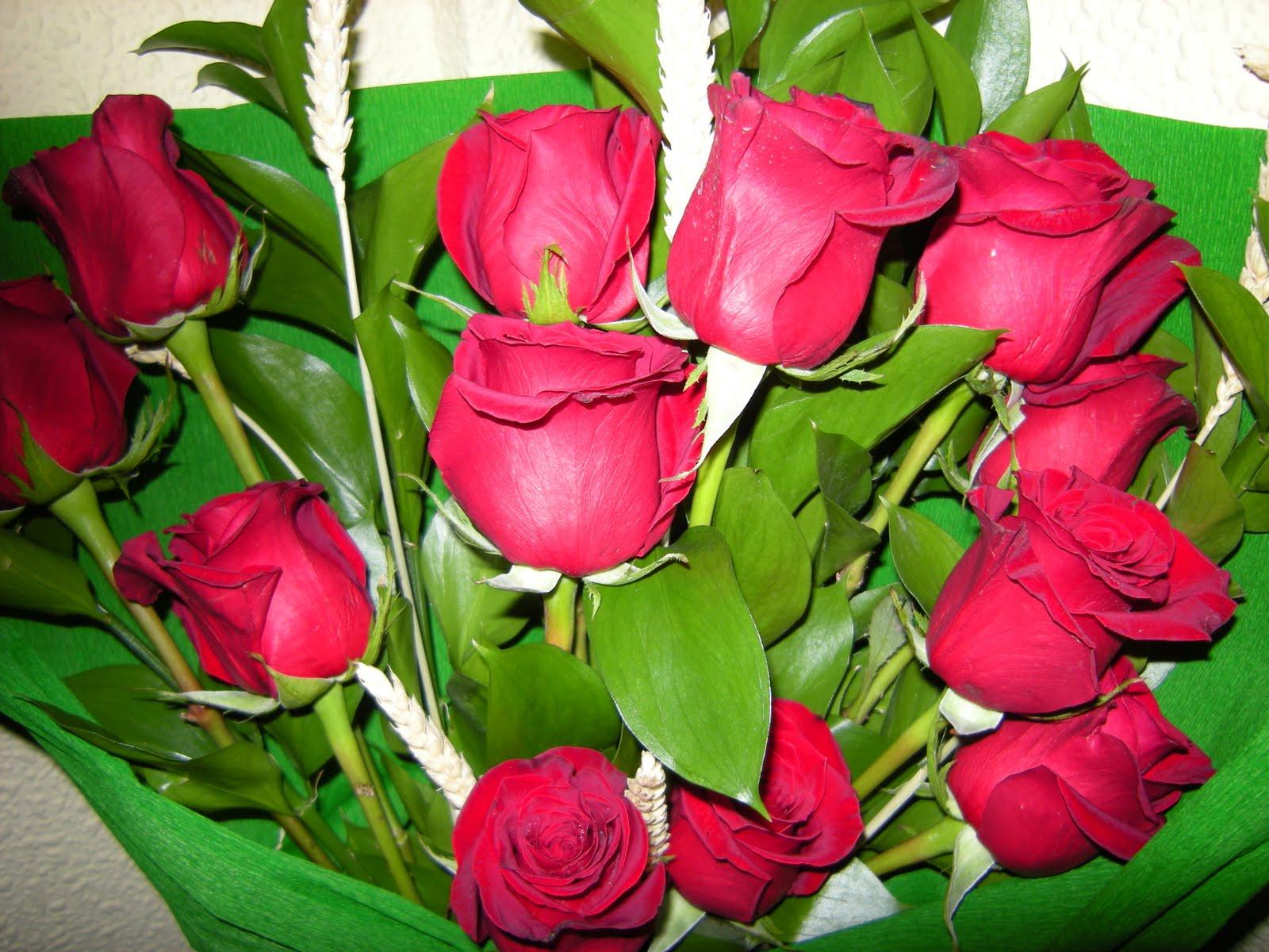 Flores Naturales Rosas