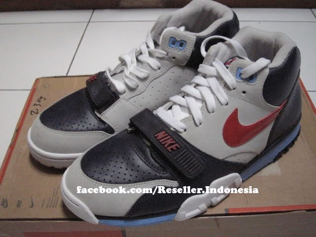 best authentic 8e423 cfc9c Nike Air Trainer 1 - Navy, Grey, Red Carolina Blue ...