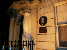 Oscar Wilde Home at night