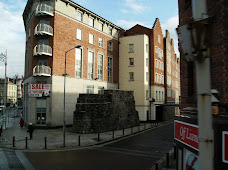 Remnant of Old wall that once surrounded Dublin