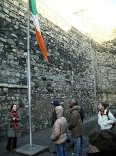 The yard where 14 rebels were executed following the 1916 Easter Rising rebellion