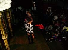 Drag  queens perform at The George