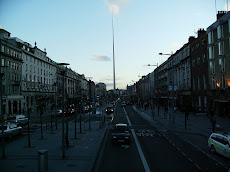 Spire of Dublin  on O'Connell Street