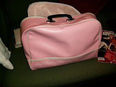 Pink Flight gift bag