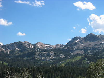 Wasatch 100 course Catherines Pass