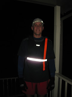 Nite Ize LED Sport Vest light on