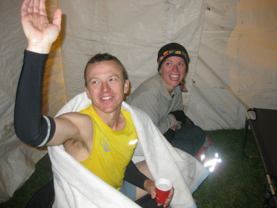 Leadville 100 mile 2009 Garett Graubins medical tent