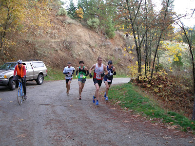 Lithia Loop Trail Marathon 2009 Max King Sam Robinson Aaron Saft  Jim Johnson