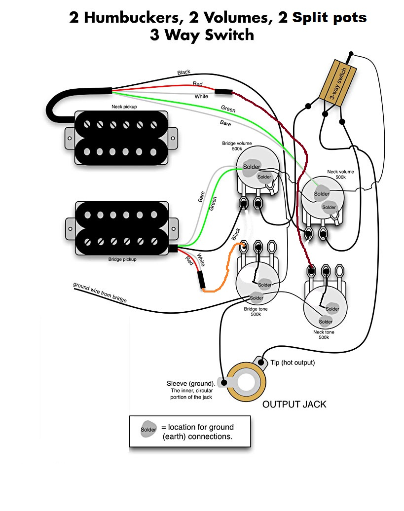 reference of guitar wiring diagram coil tap