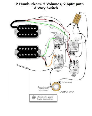Wiring Diagrams Color Code 4 Sd additionally Dpdt Switch Pickup Selecter Guitar as well Split Coil Knobs moreover Guitar Pick Up Schematic besides 2 Humbucker Wiring Diagrams. on seymour duncan humbuckers