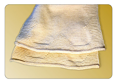 how to keep stockinette stitch from curling