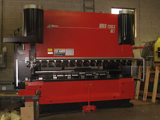 Laystrom Manufacturing: New Amada Press Brake!