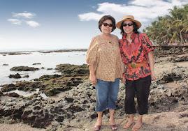 Aunty Flora & Caroline