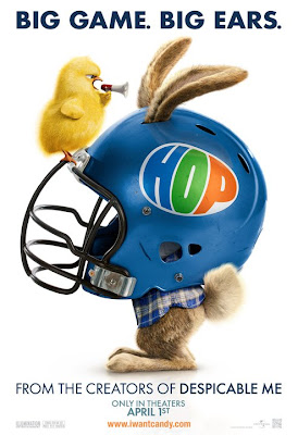 Hop Osterhase oder Superstar Superbowl Poster