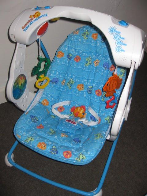 Mesya Amp Baby Wardrobe Fisher Price Aquarium Take Along Swing