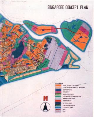 Wild Shores Of Singapore Massive Reclamation At Pulau Tekong - Singapore map 1990