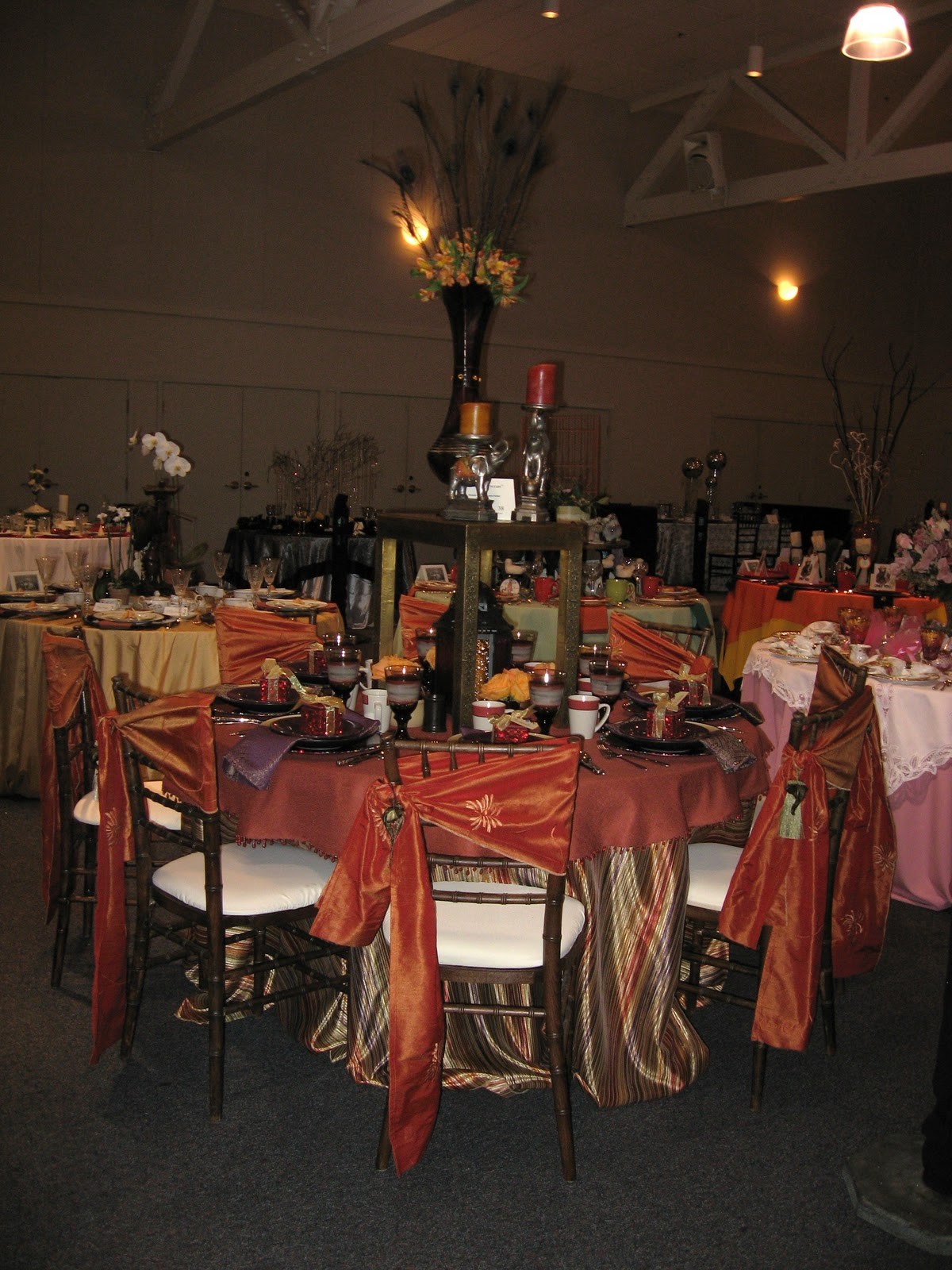 Tablesetters Your Interior View The Table Is Set Mchenry Mansion