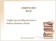 Certificado Blog