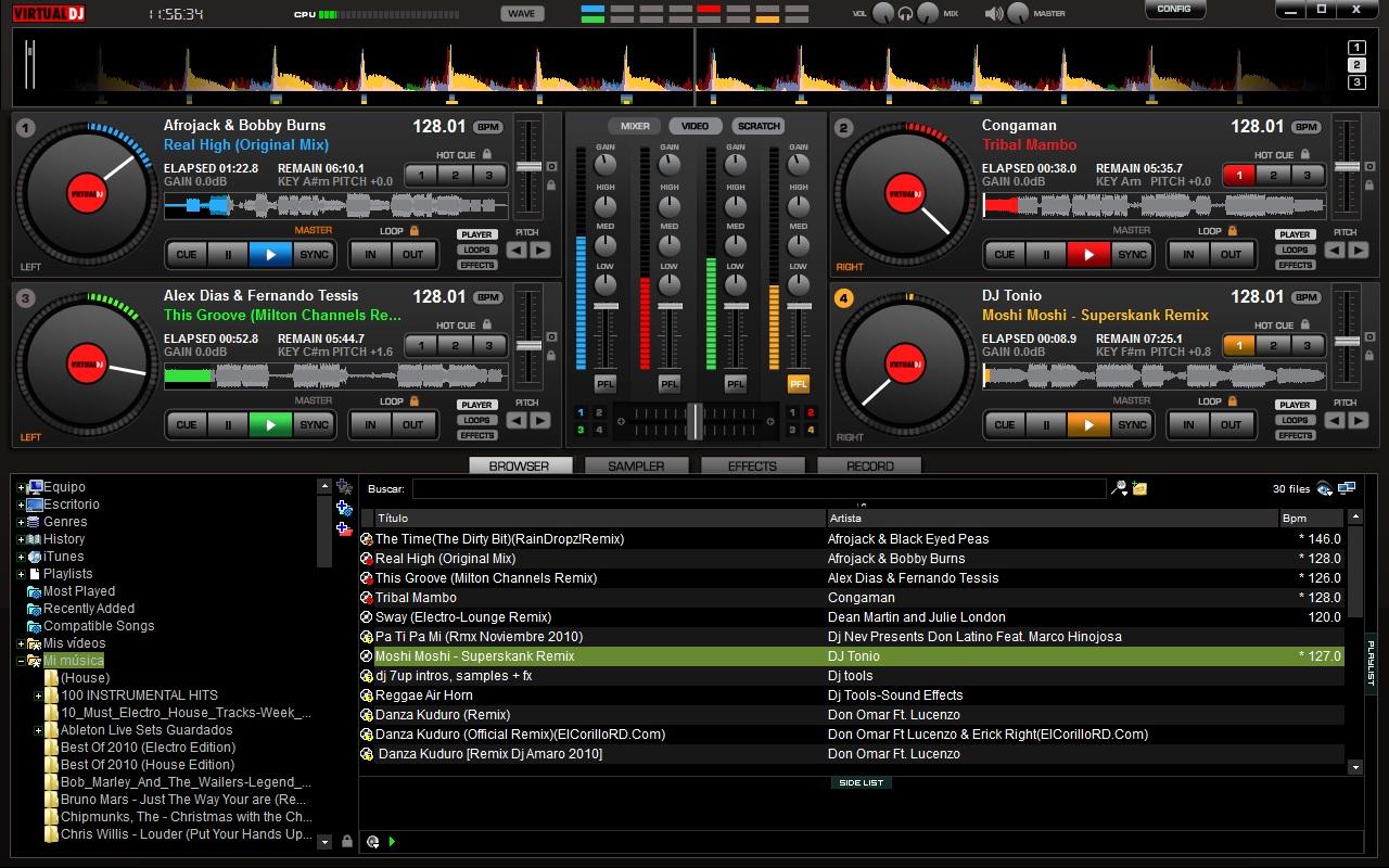 Virtual dj 6 professional pack 77 skins : urretkind