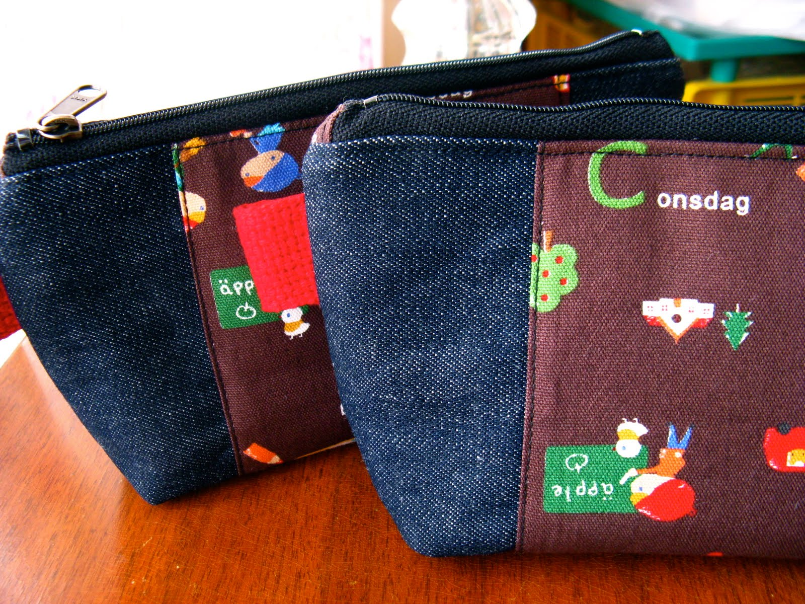 Blissful Back To School Pencil Pouches