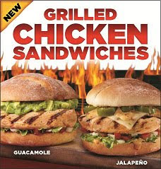 New El Pollo Loco Grilled Chicken Sandwiches