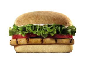 BK Tendergrill Chicken with Whole Wheat Ciabatta Bun