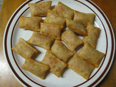 Totino's Pizza Rolls on a plate