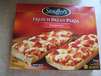 Stouffer's French Bread Pizza box