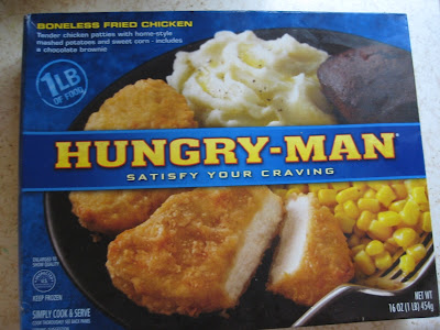 Hungry-Man Boneless Fried Chicken dinner