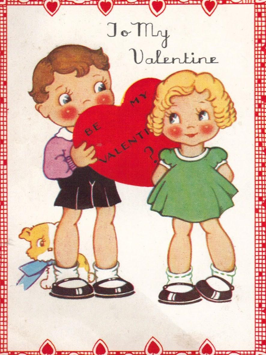 Hazelruthes's: Fabulous Printables & Free Vintage Valentines